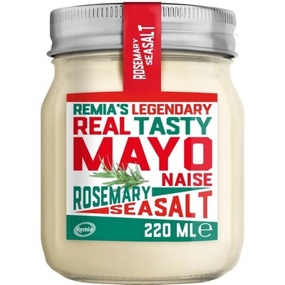 Remia Legendary mayonaise rosemary seasalt