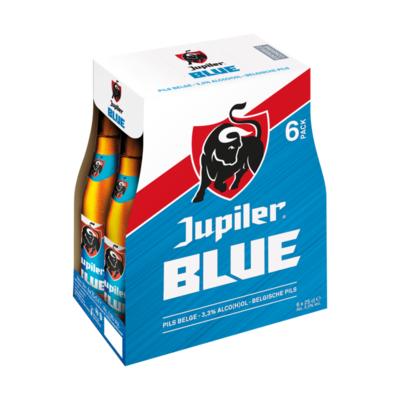 Jupiler Blue Pils Bier Flessen