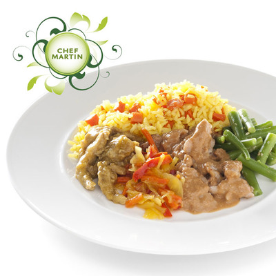 Chef Martin Indische rijsttafel kipsaté-babi pangang