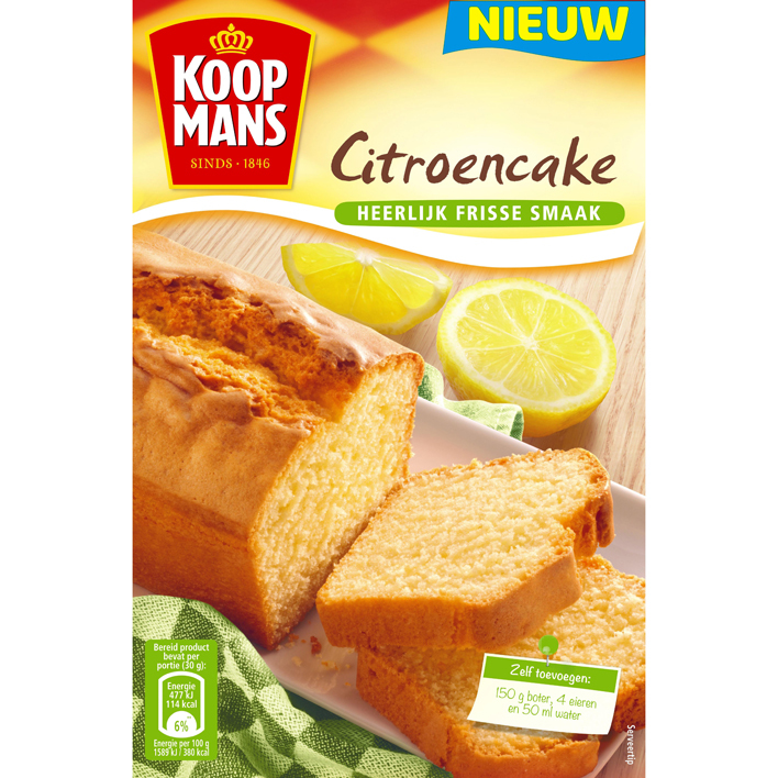 Koopmans Citroencake