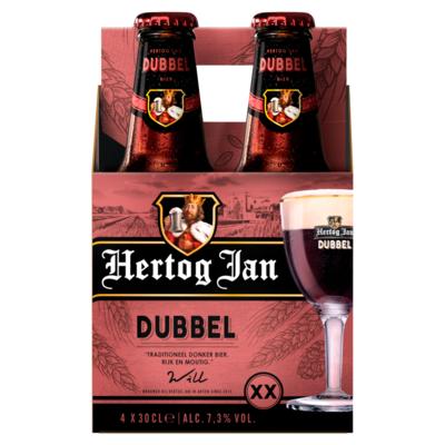 Hertog Jan Dubbel Flessen 4 x 30 cl