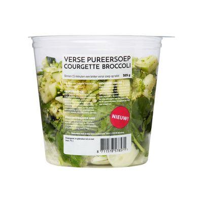 Huismerk Pureersoep Broccoli & Courgette