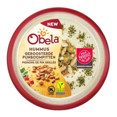 Obela Hummus geroosterde pijnboompitten
