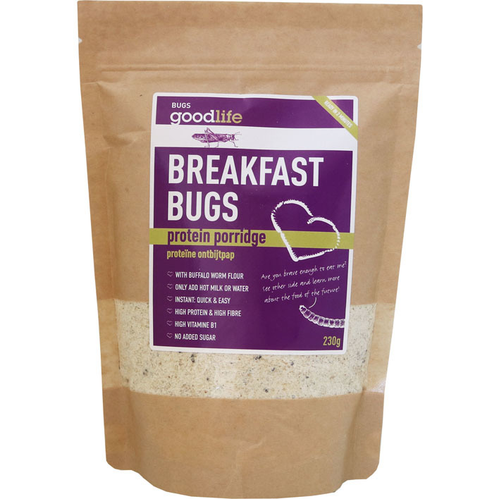 Goodlife Breakfast bugs instant protein porridge