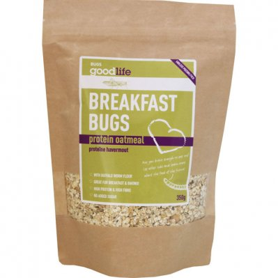 Goodlife Breakfast bugs protein oats