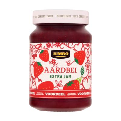 Huismerk Aardbei Extra Jam Voordeelverpakking