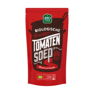 Huismerk Biologische Kruidige Tomatensoep