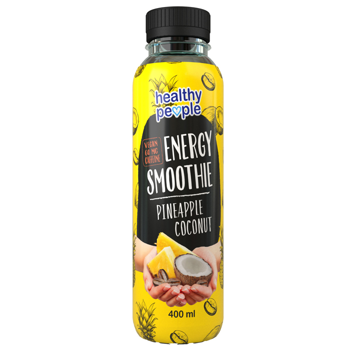 Healthy People Pineapple smoothie caffeine