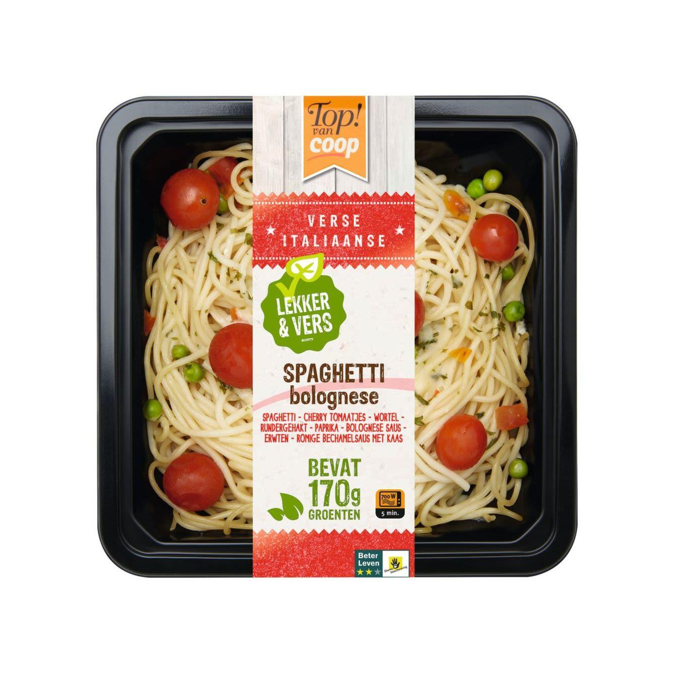 Top! Van Coop Spaghetti Bolognese