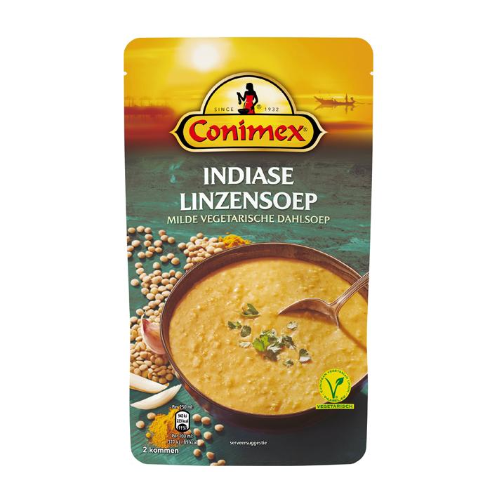 Conimex Indiase Dahl linzensoep