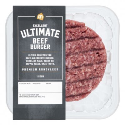 Huismerk Ultimate beef burger