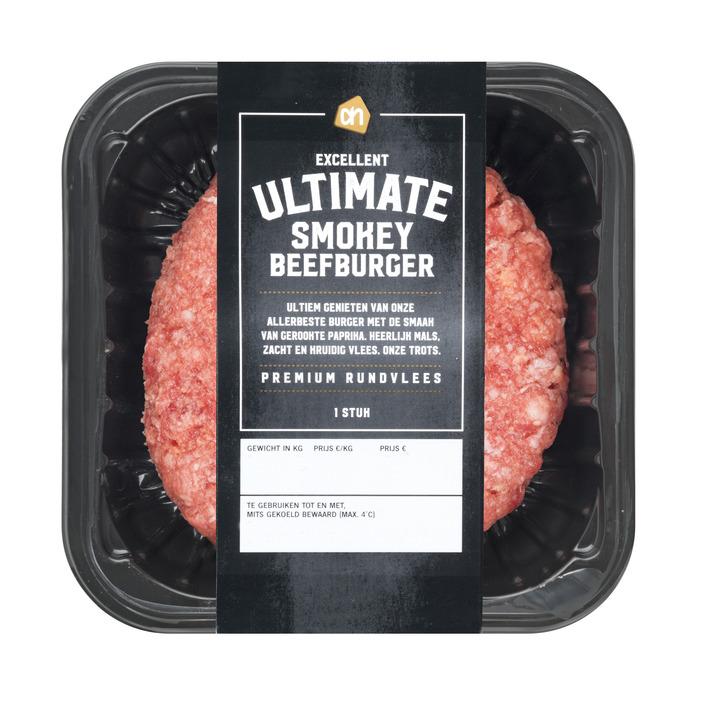 Huismerk Ultimate smokey burger