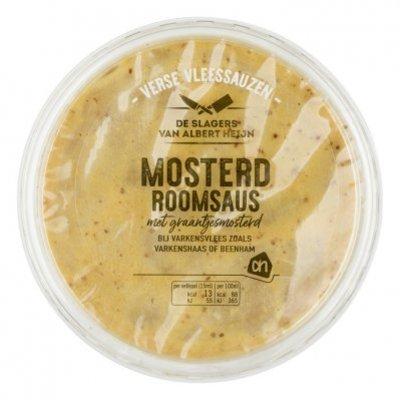Huismerk Mosterd-roomsaus met graantjesmosterd