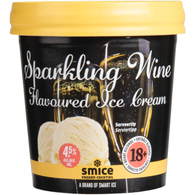 Smice Sparkling wine flavoured ice cream