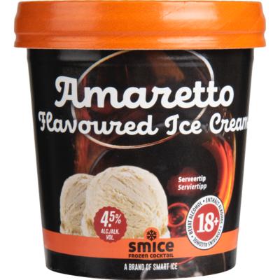 Smice Amaretto flavoured ice cream