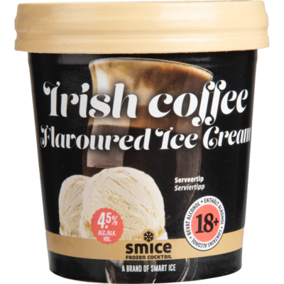 Smice Irish coffee flavoured ice cream
