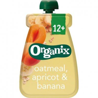 Organix Knijpfruit havermout abrik&banaan 6-36m
