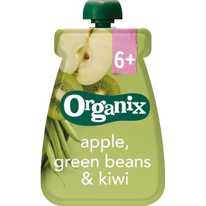 Organix Appel, groene bonen & kiwi 6-36m