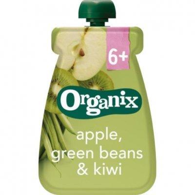 Organix Knijpfruit appel groene bonen&kiwi 6-36m