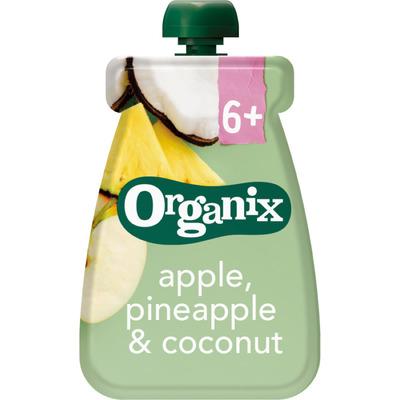 Organix Appel, ananas & kokos 6-36m
