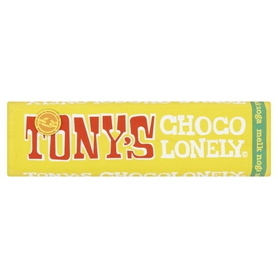 Tony's chocolonely Chocoladereep Melk Noga