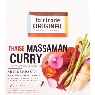 Fair Trade Original Kruidenpasta massaman