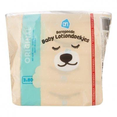 Huismerk Beregoede baby lotiondoekjes 3 pak