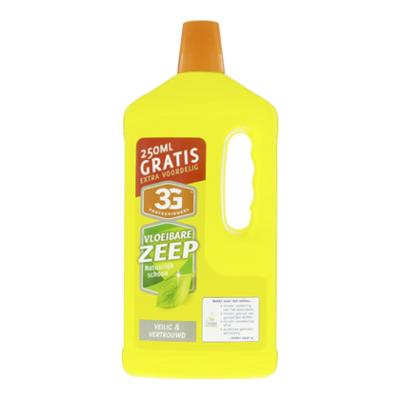 3G Professioneel Vloeibare zeep ecologisch 250ml gratis