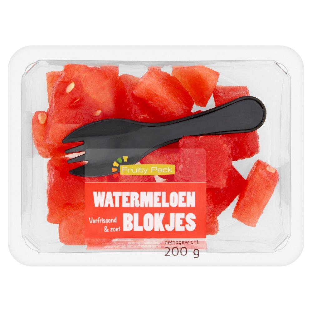 Watermeloen Blokjes 200 g