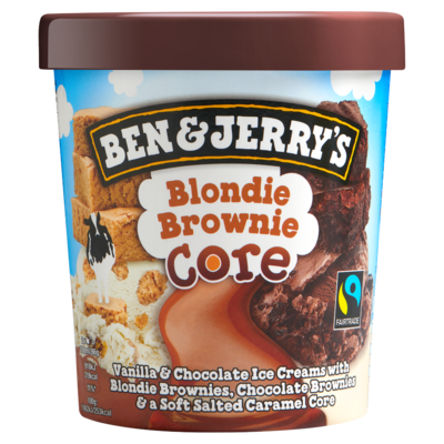 Ben & Jerry's Core IJs Blondie Brownie 500 ml