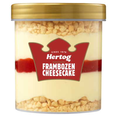Hertog IJsbeker Framboos Cheesecake 430 ml