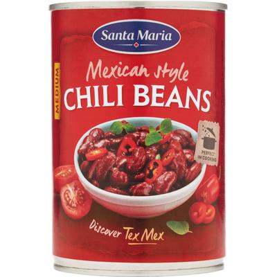 Santa Maria Mexican chili beans