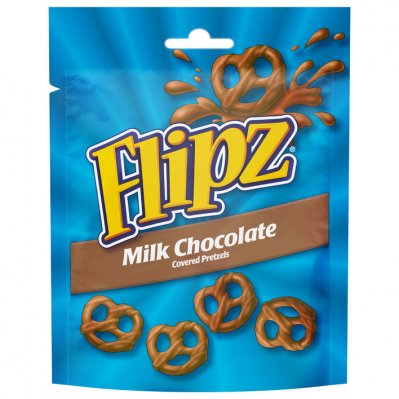 Flipz Milk chocolate pretzels