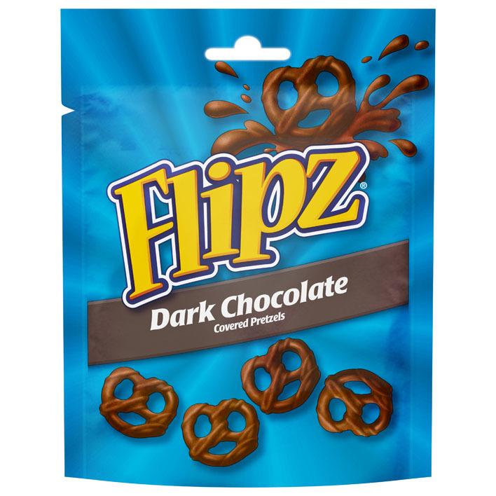 Flipz Dark chocolate pretzels