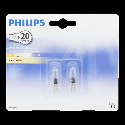 Philips Halogeen capsulelamp 14W G4