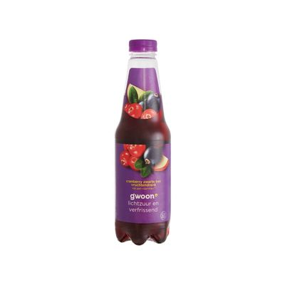 G'woon Cranberrysap Zwarte Bes