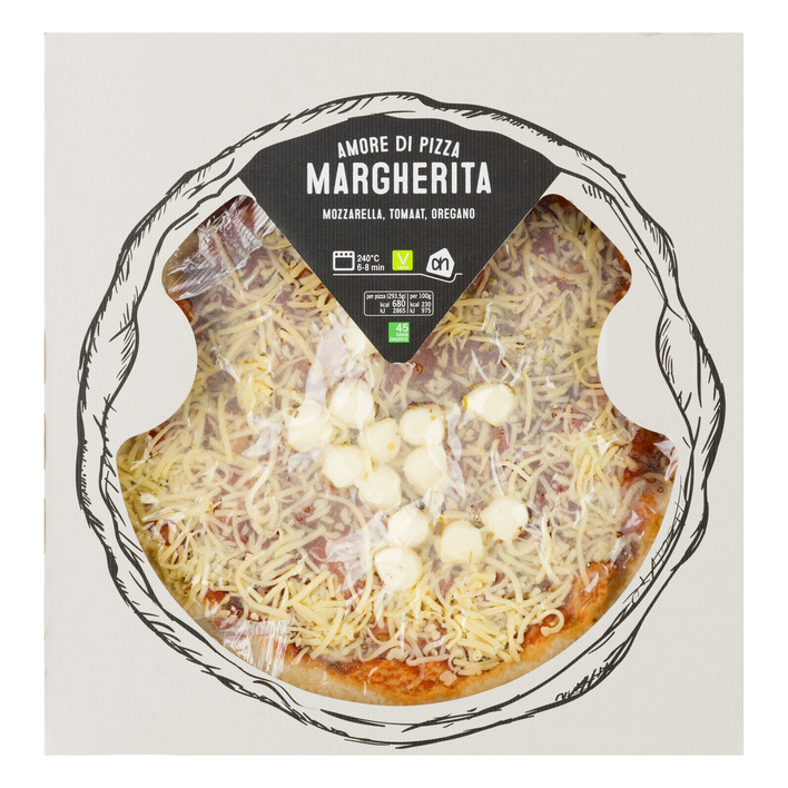Huismerk Pizza Margharita