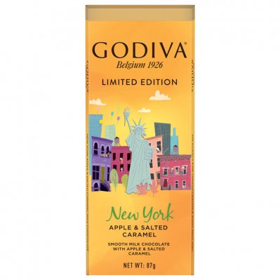 Godiva Cities New York apple & salted caramel