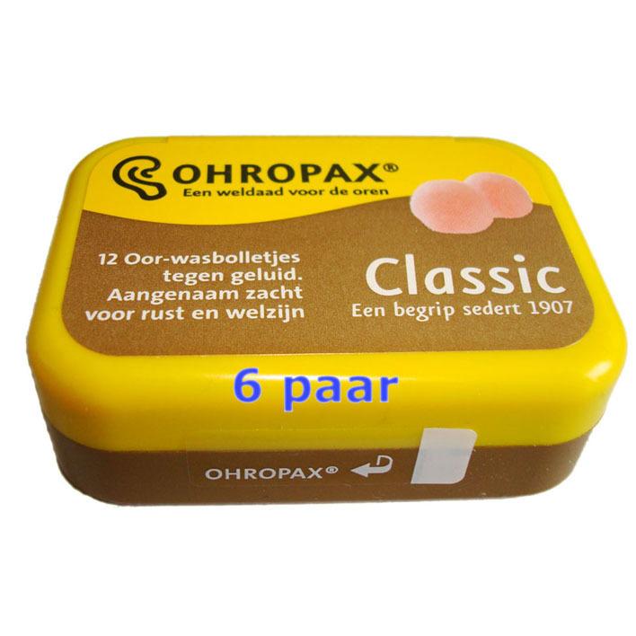 Ohropax Oor-wasbolletjes