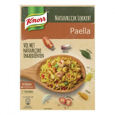 Knorr Natuurlijk wereldgerecht paella