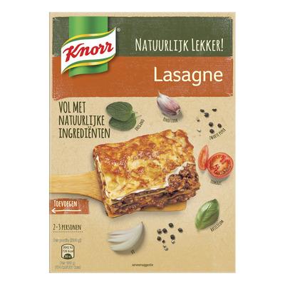 Knorr Natuurlijk wereldgerecht lasagne