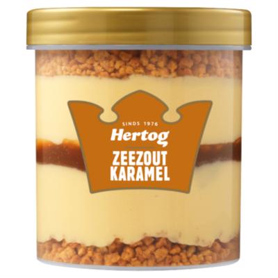 Hertog Karamel Zeezout IJsbeker