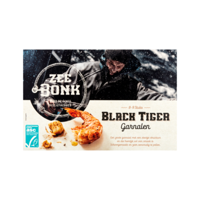 Zeebonk Black Tiger Garnalen