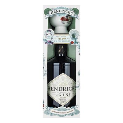 Hendrick's Gin met teacup