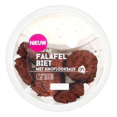 Huismerk Falafel met vegan knoflooksaus