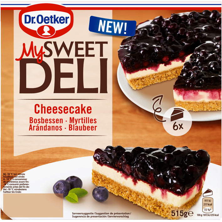 Dr. Oetker Blueberry Cheesecake