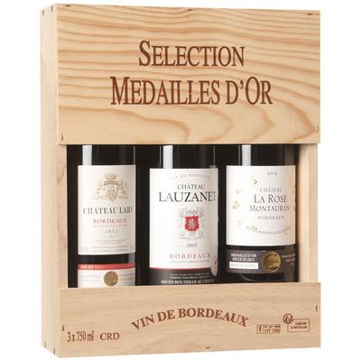 Sélection Médailles d'Or Bordeaux