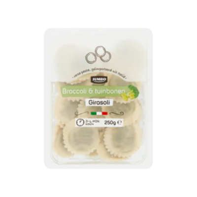 Huismerk Broccoli & Tuinbonen Girasoli