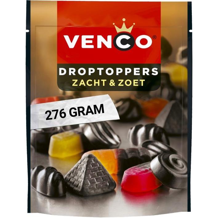 Venco Droptoppers zacht & zoet