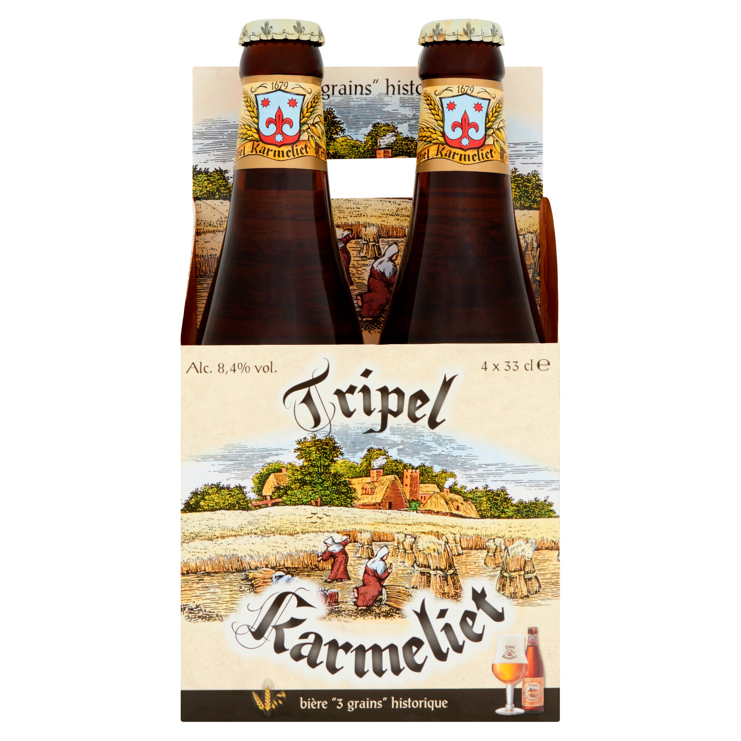 Tripel Karmeliet Belgisch Speciaalbier Flessen 4 x 33 cl